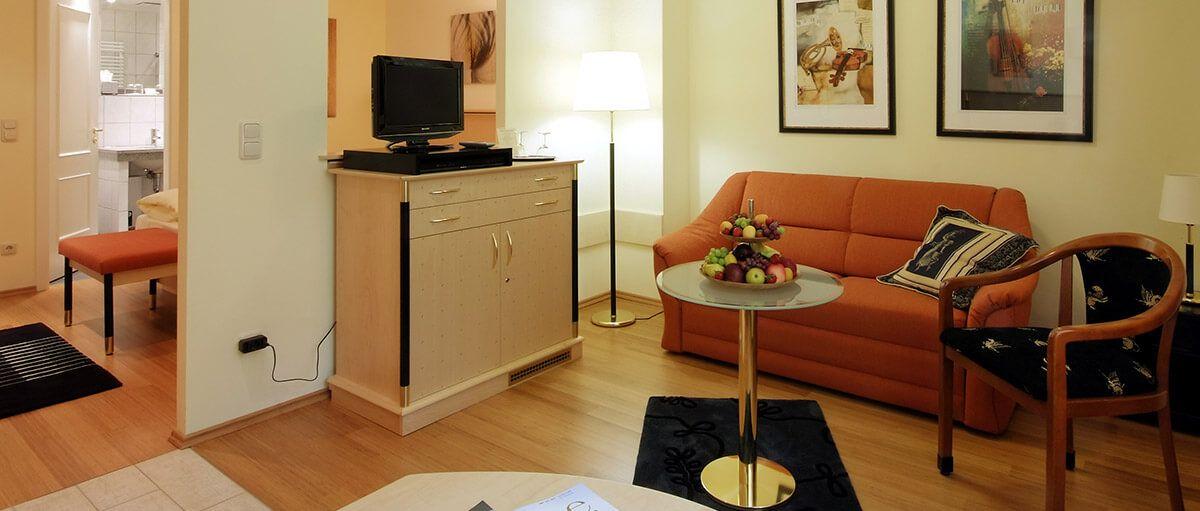 Langzeitappartement ab sofort verfügbar
